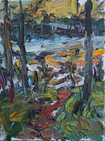 Ulrich Gleiter, 'Finland in Spring, Melting Lake', 2019