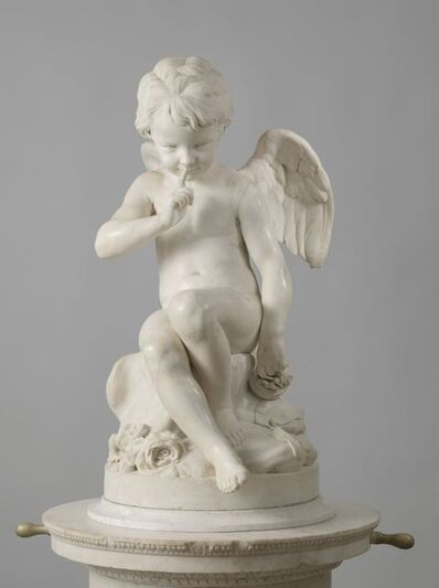 Etienne-Maurice Falconet, 'Seated Cupid', 1757