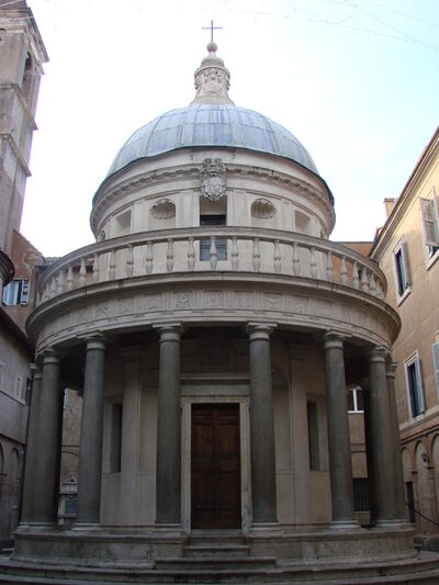 Donato Bramante, 'Tempietto, Church of San Pietro in Montorio', 1502-1510