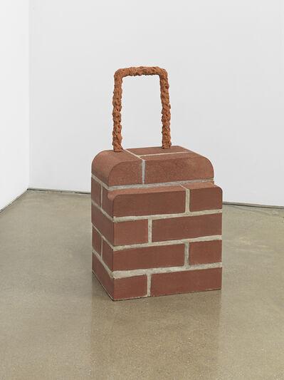 Judith Hopf, 'Rollkoffer (Brick Trolley)', 2018
