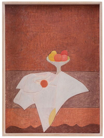 Lan Zhaoxing, 'Cezanne's apple塞尚的苹果', 2018