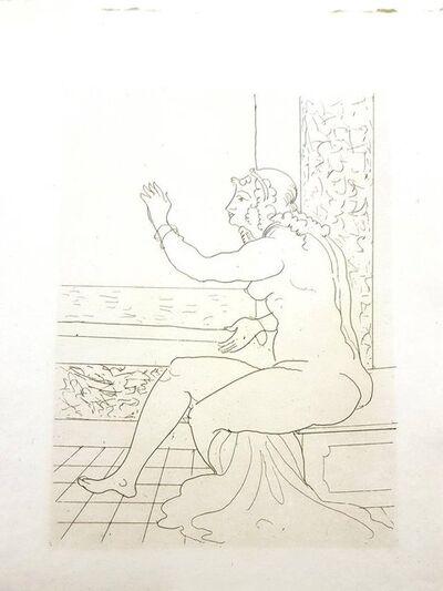 """André Derain, 'Original Etching """"Héroïdes by Ovide IV"""" by André Derain', 1938"""