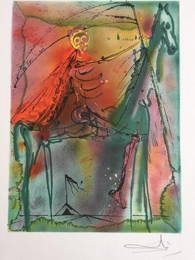 Salvador Dalí, 'Le cheval de la mort', 1983