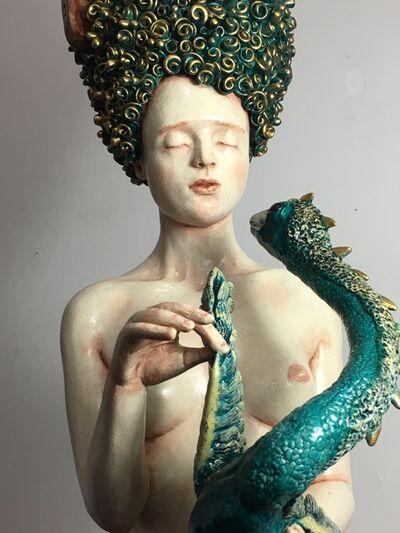 Francesca Dalla Benetta, 'La niña y el dragon', 2019