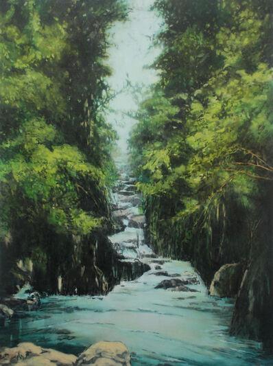Annette Pugh, 'Waterfall (Fairy Glen)', 2019