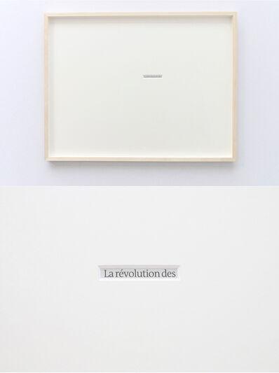 Takahiro Kudo, 'La révolution de 28 février', 2015