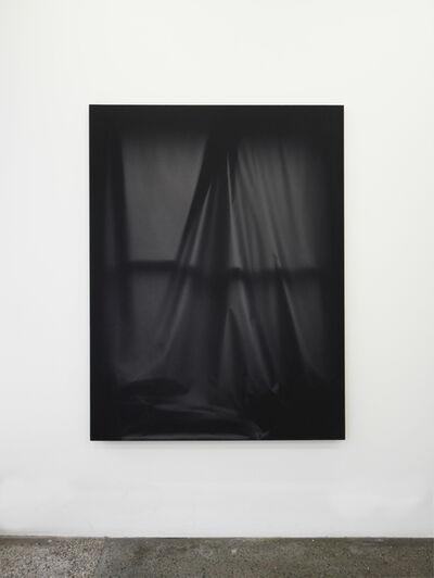 Chris Duncan, 'Bedroom Window (Black #3) 6 month exposure. Winter-Summer 2015', 2015