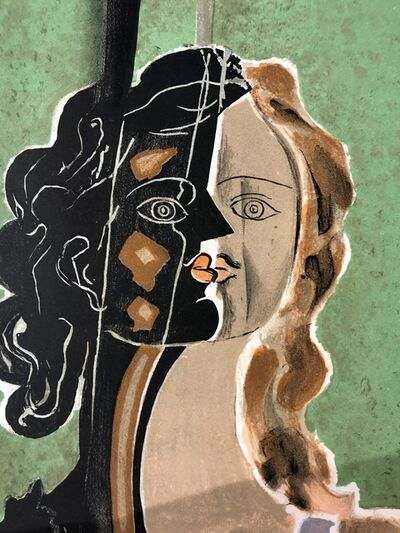 Georges Braque, 'Figure fragments', 1939