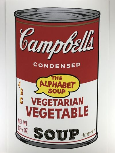 Sunday B. Morning, 'Campbells Soup – VEGETARIAN VEGETABLE', ca.1980