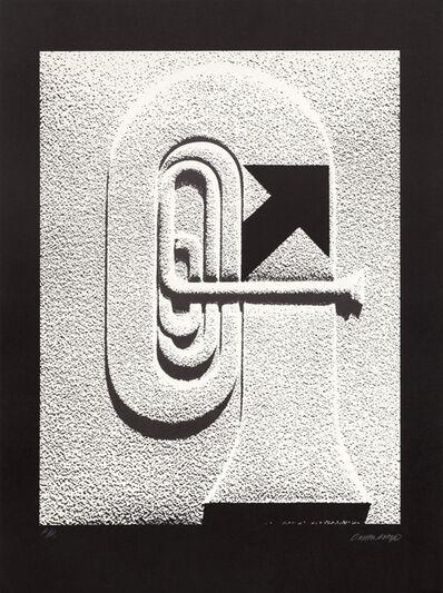 Omar Rayo, 'Trumpet', ca. 1970