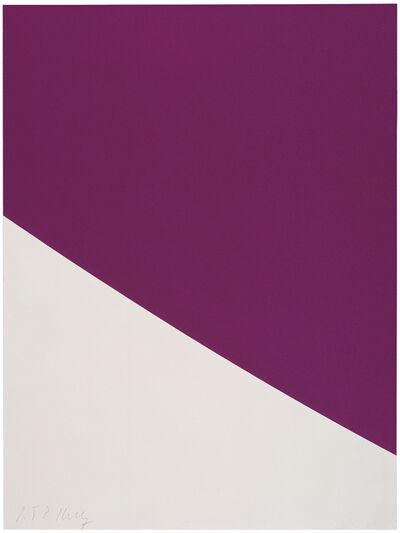 Ellsworth Kelly, 'Purple Curve', 2000