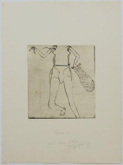 Joseph Beuys, 'Suite Zirkulationszeit - Taucherin', 1982