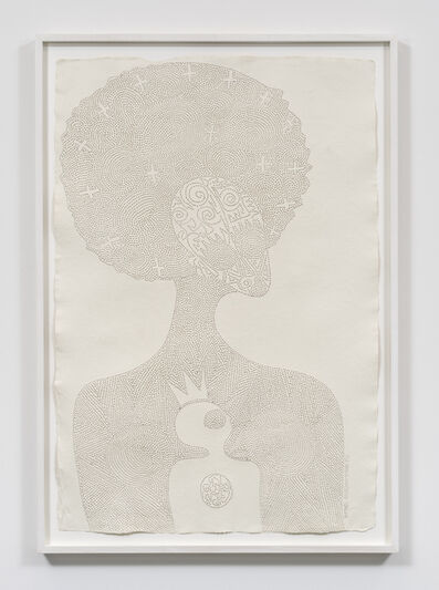 Victor Ehikhamenor, 'I am Emotan, the Benin woman that hid a young troubled king', 2017