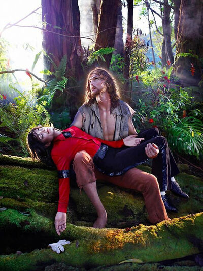 David LaChapelle, 'American Jesus: hold me, carry me boldly', 2007
