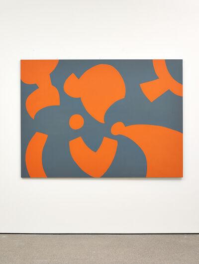 Carla Accardi, 'Grigio arancio', 2005