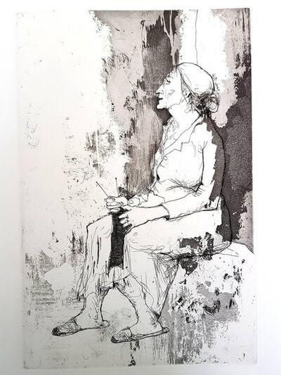 """Jean Jansem, 'Original Etching """"Loneliness I"""" by Jean Jansem', 1974"""