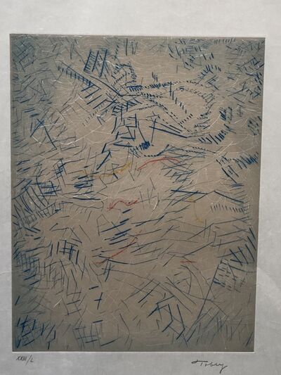 Mark Tobey, 'Of time & age', 1975