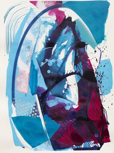 Julia Benz, 'Sky Blue', 2020