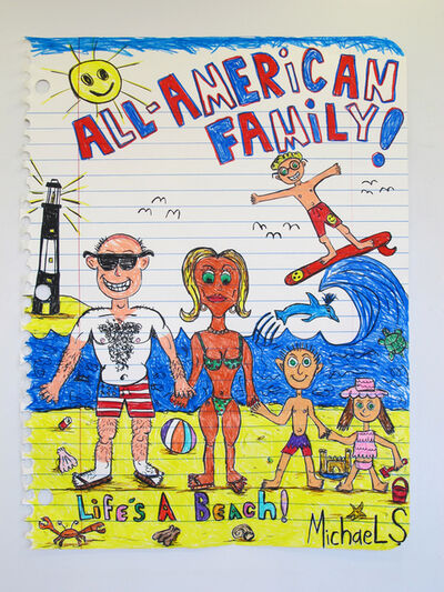 Michael Scoggins, 'All-American Family XXVI(Life's aBeach!)', 2016