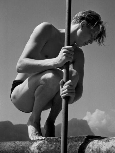 Herbert List, ' Ritti with Rod', 1936
