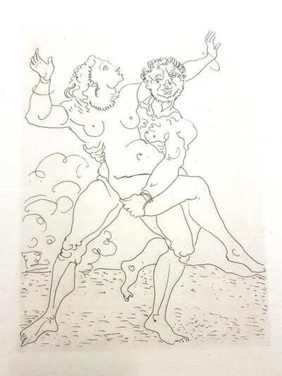 """André Derain, 'Original Etching """"Héroïdes by Ovide"""" by André Derain', 1938"""