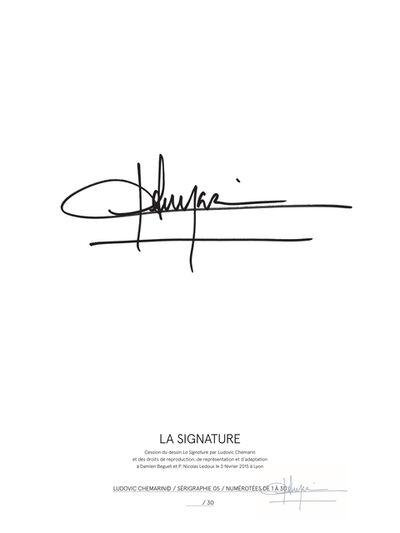 Ludovic Chemarin©, 'La signature', 2015