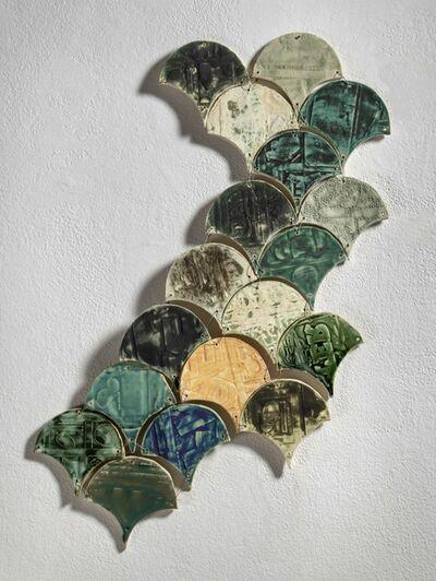 Rachel Hubbard Kline, 'Clamshell Tiles', 2019