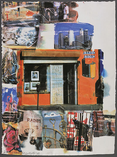 Robert Rauschenberg, 'L.A. Uncovered #12', 1998