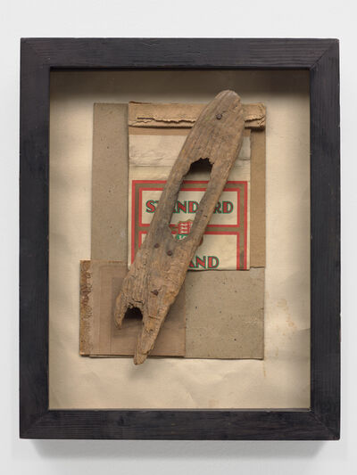 Kurt Schwitters, 'Untitled (Standrad mit Holz) (Untitled (Standard with wood)), ', 1947