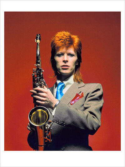 Mick Rock, 'Bowie, Sax Color CU, London', 1973
