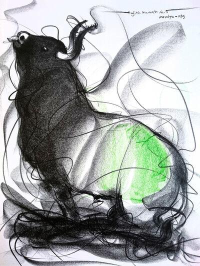 Sujth Kumar G.S. Mandya, 'Bull Drawing -  600', 2009