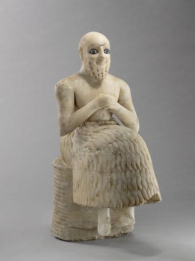 'Statue de l'intendant Ebih-Il (Statue of Ebih-Il)', c. 2400 B.C.