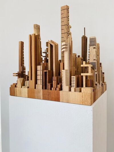 "James McNabb, 'City Block 1 From the Series ""Metros""', 2014"