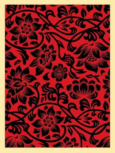 Shepard Fairey, 'Floral Takeover', ca. 2018