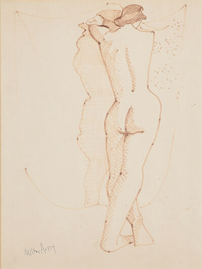 Milton Avery, 'Untitled (Standing Nude)'