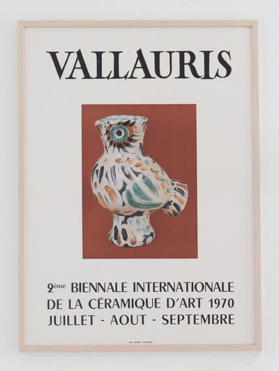 Pablo Picasso, 'Vallauris  9ème Biennale Internationale de la Céramique d'art 1970', 1970