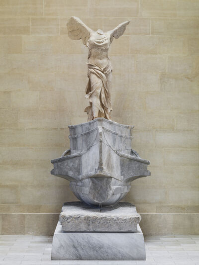 'Victoire de Samothrace (Winged Victory of Samothrace)', ca. 190 BCE