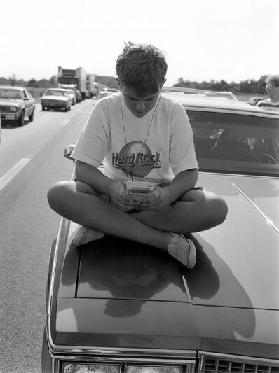 Mark Steinmetz, 'I-55, Illinois', 1991