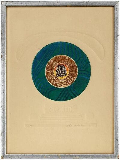Martin Barooshian, 'Gemini, Color Intaglio Print, AP', Late 20th Century