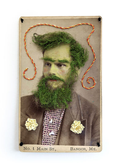 Gary Brotmeyer, 'Green Bearded Fiigure, Maine'