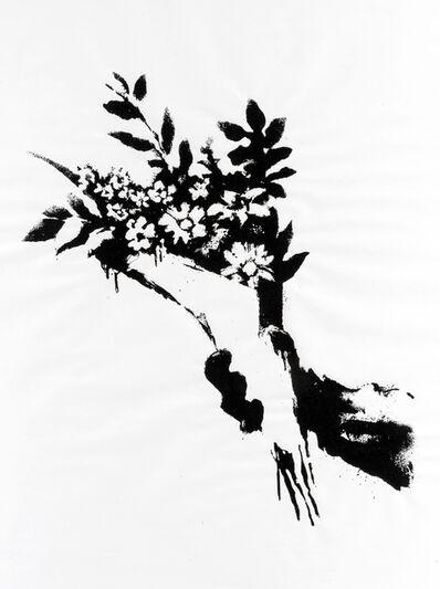 Banksy, 'GDP Flower Thrower', 2019