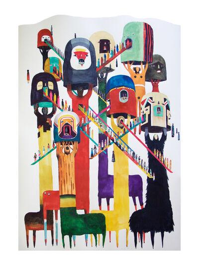 Rob Sato, 'Sing AH!', 2016