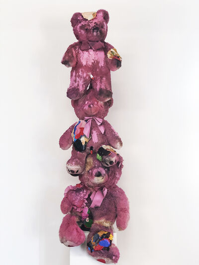 Frank Buffalo Hyde, 'TEDDY BEAR TOTUM', 2019