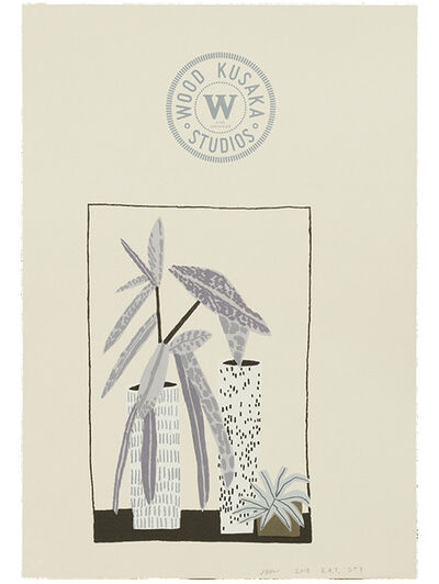 "Jonas Wood, '""Notepad Doodle 3"" (State III)', 2018"