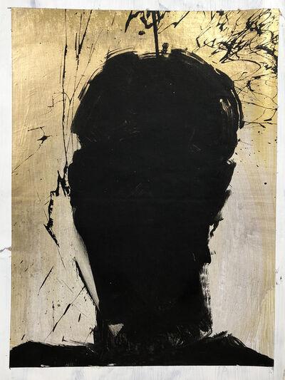 Richard Hambleton, 'Shadow Head Portrait', 1992