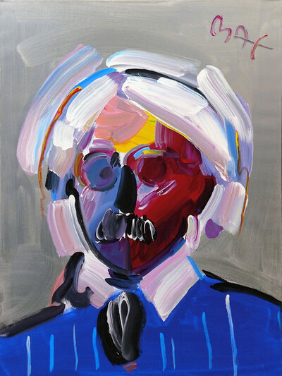 Peter Max, 'ANDY WITH MUSTACHE VER. VIII #6', 1998