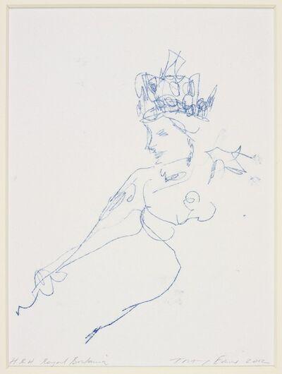 Tracey Emin, 'HRH Royal Britannia', 2012