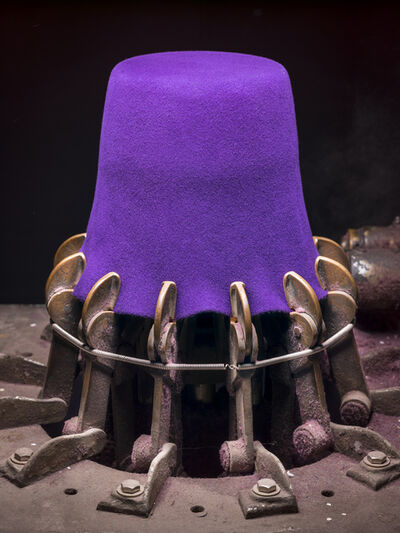 Christopher Payne, 'Bollman Hat, Purple Fez', ca. 2019