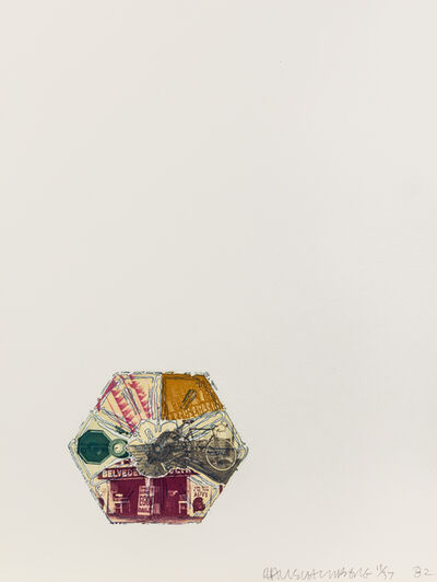Robert Rauschenberg, '10,000' and Rising (from L.A. Flakes)', 1982