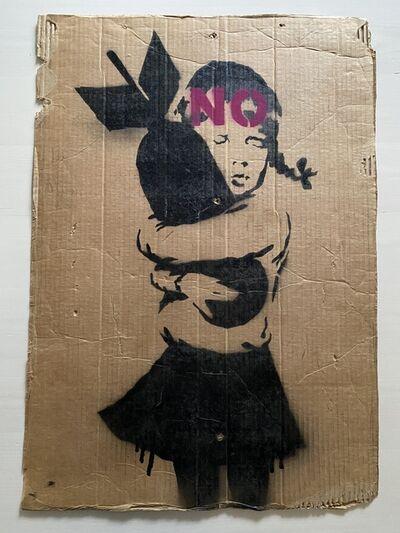 """Banksy, ' """"Bomb Hugger"""" (Basingstoke variant)', 2003"""
